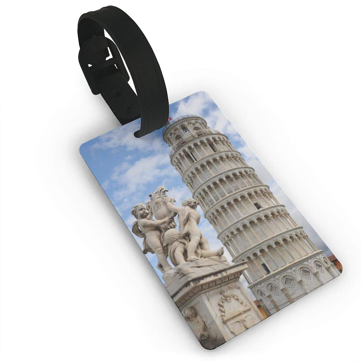 Leaning Tower Of Pisa Travel Tags For Suitcase Bag Accessories 2 Pack Luggage Tags