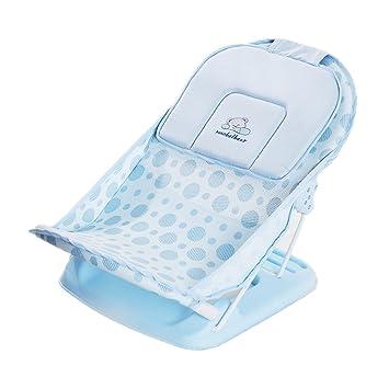 Amazon.com: Almohada para tina bebé plegable silla para la ...