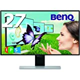 BenQ モニター ディスプレイ EW2770QZ 27インチ/WQHD/IPS/ウルトラスリムベゼル/Displayport,HDMI端子/ブライトネスインテリジェンスプラス