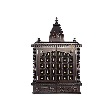 Buy Aakaar Idols Temples Handcrafted Wooden Templemandappooja