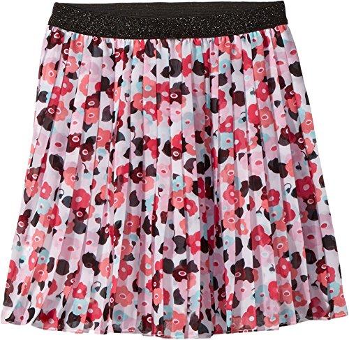 Kate Spade New York Kids Girl's Pleated Skirt (Big Kids) Blooming Floral 8 (York Skirt Pleated New)