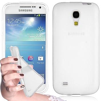 Cadorabo - Carcasa de Silicona para Samsung Galaxy S4 Mini, Transparente