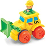 Kidoozie Front Loader Push 'n Zoom Vehicle - Teaches Beneficial Roleplay and Employs Tactile Engagement - For Ages 18 Months and Up