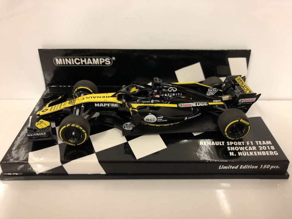 Minichamps Renault Sport F1 Team No.27 Formula 1 Showcar 2018 (Nico Hülkenberg)