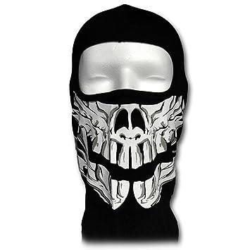 WINDMASK Sturmhaube Totenkopf Fang Skull