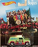 Hot Wheels Pop Culture The Beatles Sgt. Pepper's Lonely Hearts Club Band '67 Austin Mini Van, Premium Adult Collectible Diecast Car