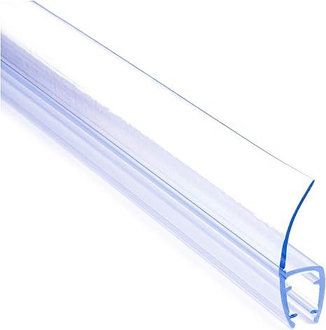 0.1-2m UK07 PVC SHOWER SCREEN SEAL gasket for 6mm 8mm glass bath door pane