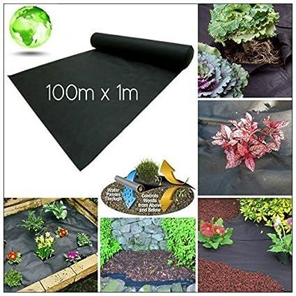3 x Weed Control Garden Ground Mats Sheet Fabric Membrane Driveway 8m x 1.5m