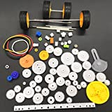 78 kinds of gear package toy car accessories motor various gear axle belt bushings DIY For the car, Kaifa