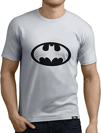 Tuning Camisetas - Camiseta Divertida para Hombre - Modelo Batman, Color Blanco- Talla XXL (0184-Blanco-Batman-XXL): Amazon.es: Ropa y accesorios