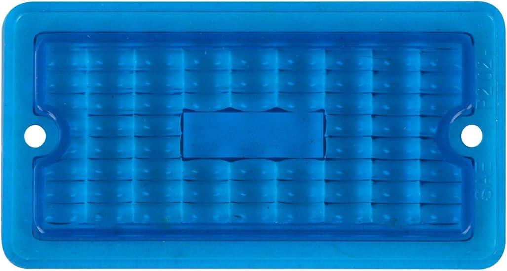 GG Grand General 80459 Clear Plastic Lens for Rect Marker Light