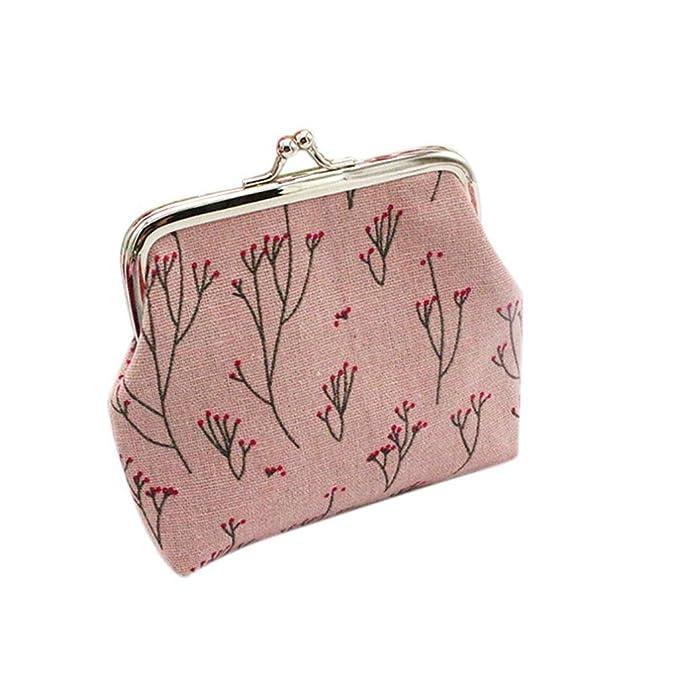 Vovotrade® Femmes Impression Holder Portefeuille Card Porte-monnaie sac à main dembrayage Motif Fleur de Branche Trousses à maquillage Accessoires