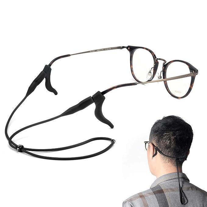 Amazon.com: SMARTTOP - Correa de silicona suave para gafas ...