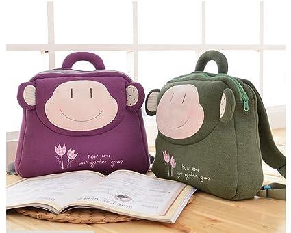 Amazon.com  Set of 2 - Metoo Kid s Backpack Cartoon Plush Toy School ... a694a988e1dab