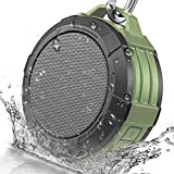 Bluetooth Speaker Wireless Portable Outdoor Waterproof Hiking Travel Hands Free Call Mic Connect iPhone Android (Green)