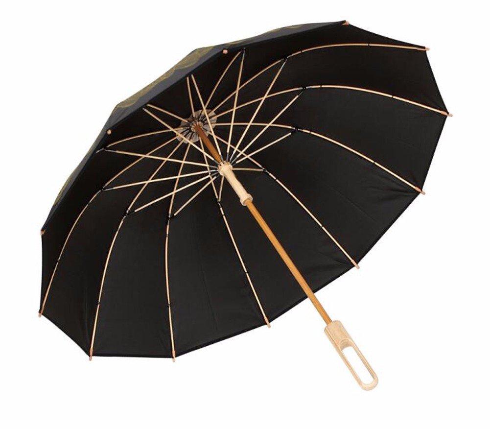 SSBY Long bamboo umbrellas umbrella creative umbrella UV umbrella bamboo umbrella,L