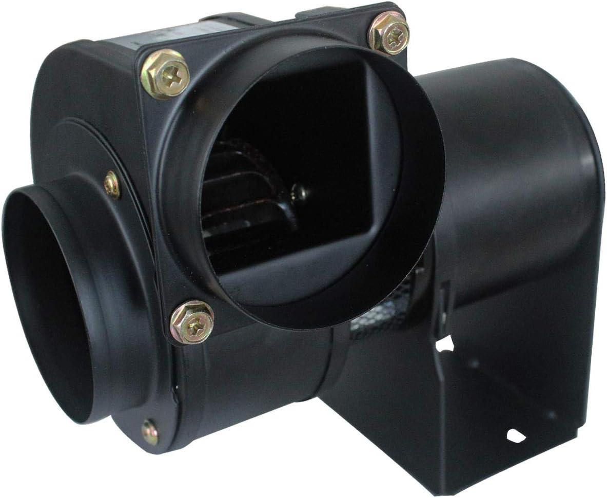 Ventilador centrifugo 220v motor extractor caldera radial max.200℃ ventilador estufa pellets industrial 25w 45w 50w (25W)