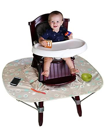 amazon com kid z katch high chair food and mess catcher accessory
