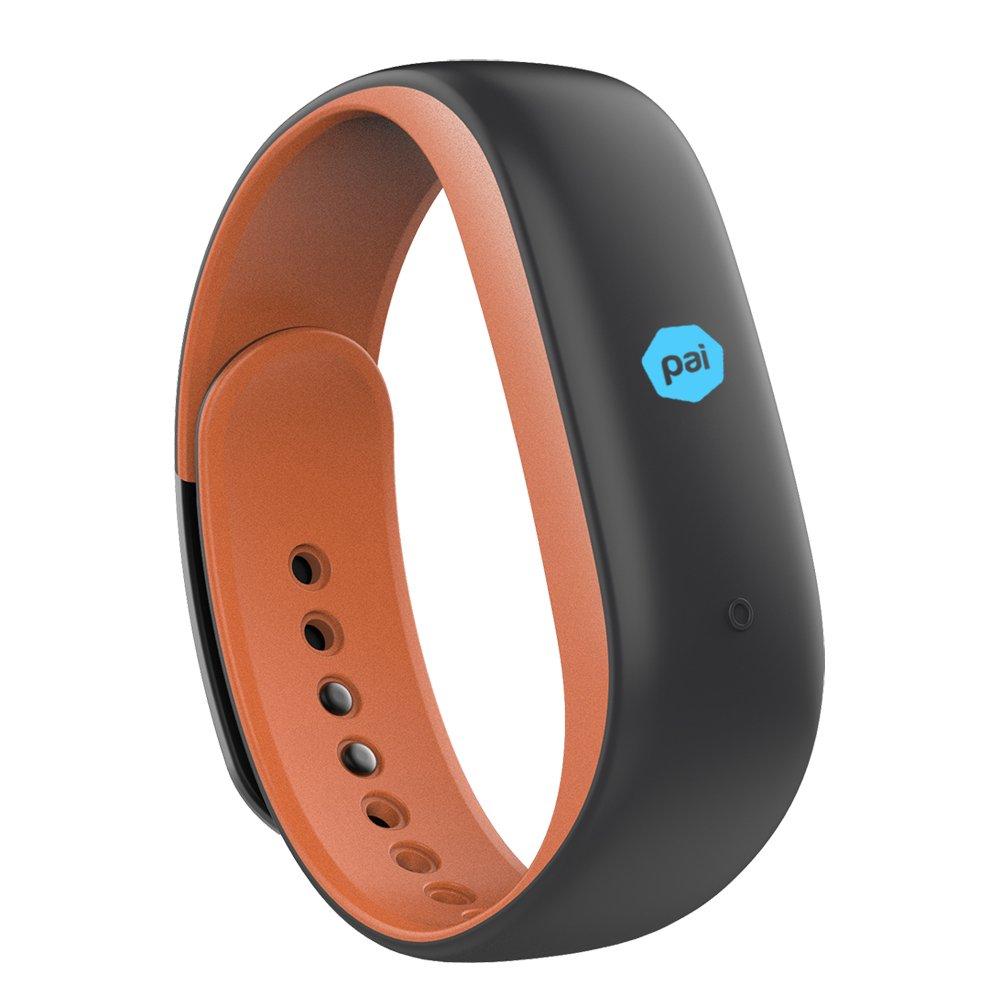 Lenovo HW02 Plus Heart Rate Fitness Band (Fashion-Orange)