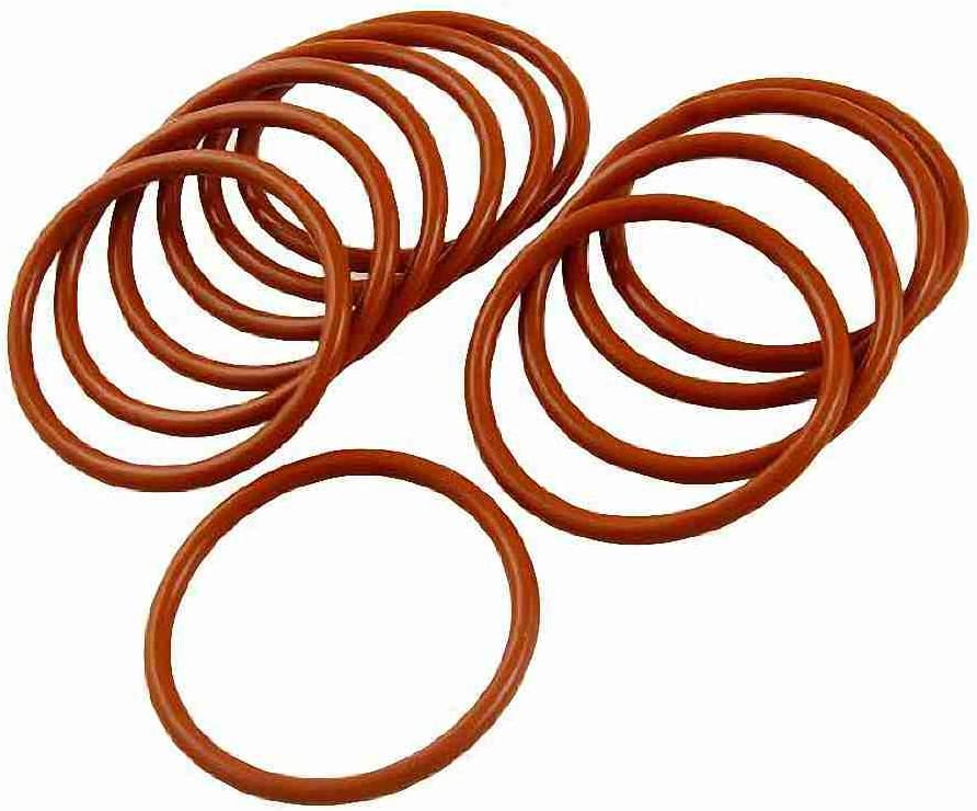 10 Pc Industrie Silikon O Ring Dichtung 43 Mm X 50 Mm X Elektronik