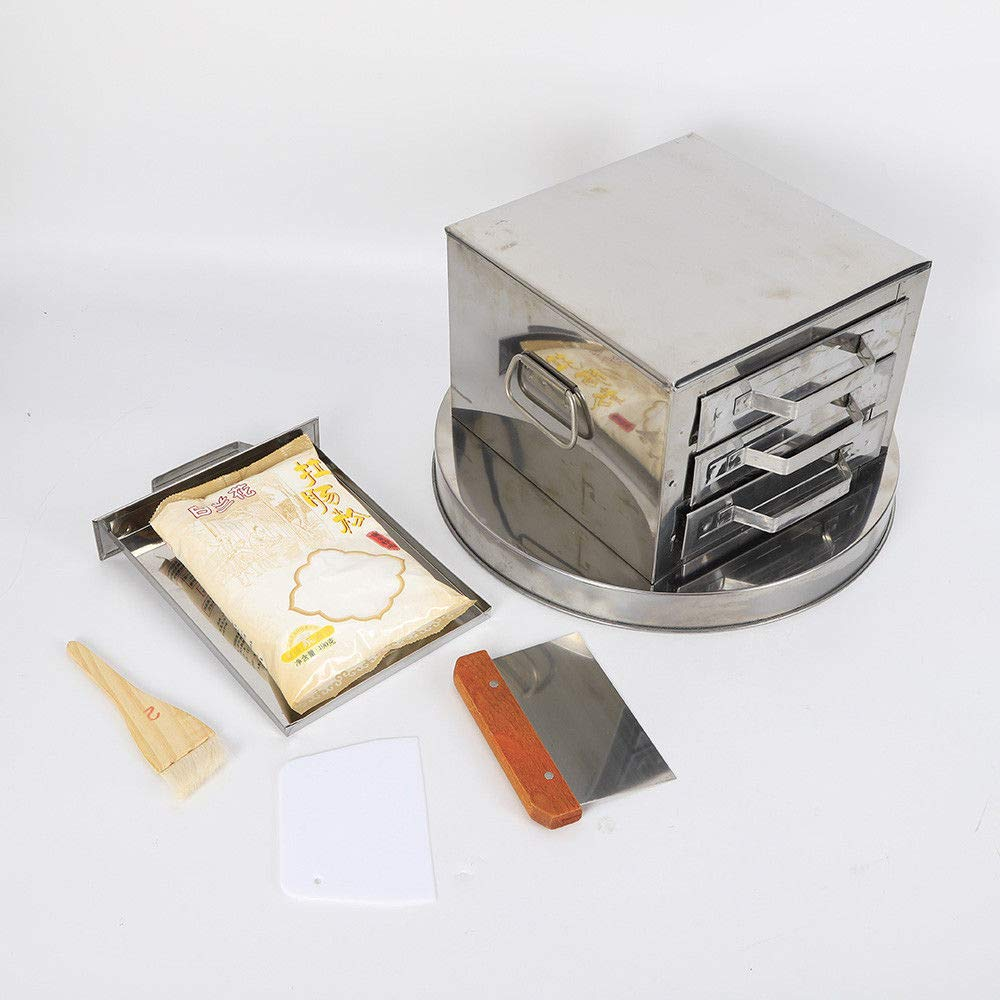 Kitchen Food Steaming Equipment Steamer Rice Noodle Roll Machine With 3-Drawers by TFCFL (Image #4)