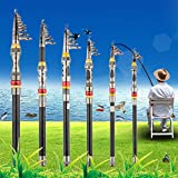 Tmalltide Super Light Carbon Telescopic Pole Saltwater Casting Sea Fishing Rods