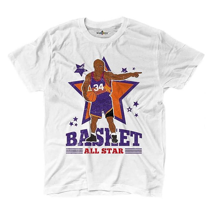 Camiseta camiseta Baloncesto Vintage parodia Charles All Star ...