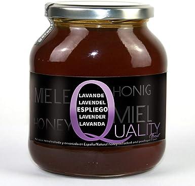 Miel pura de abeja 100%. Miel cruda de Espliego. 1 Kg. Producida ...