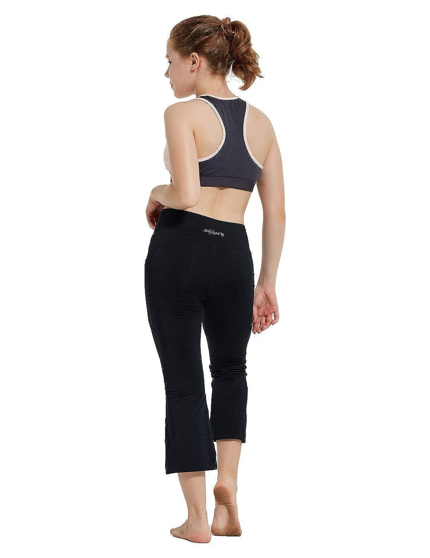 BALEAF Girls Leggings Dance Volleyball Sport Athletic Workout Yoga Capris