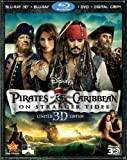 Pirates of the Caribbean: On Stranger Tides (Five-Disc Combo: Blu-ray 3D / Blu-ray / DVD / Digital Copy) by Walt Disney Studios Home Entertainment