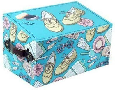 CAPRILO Caja de Zapatos Decorativa con Kit de Limpieza. Cuidado del Calzado. Menaje de Hogar. Regalos Originales. 15.5 x 25.5 x 16 cm.: Amazon.es: Zapatos y complementos