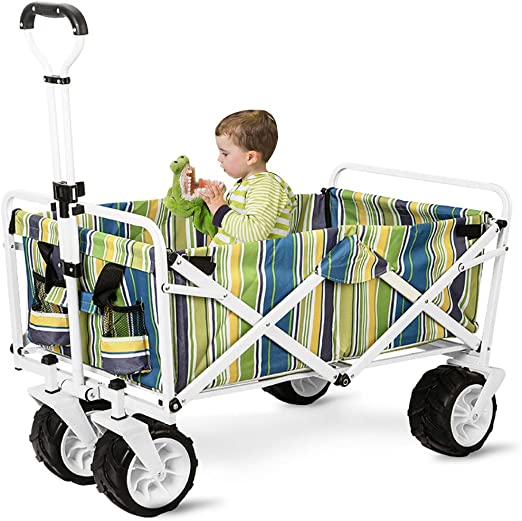 GARDEN CAR ZLMI Carro de jardín Multi-función de Gran Capacidad de ...