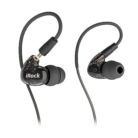 GranVela® A8 de dos transductores con auriculares de botón, auriculares Sport estéreo con cable
