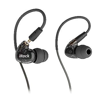 GranVela® A8 de dos transductores con auriculares de botón, auriculares Sport estéreo con cable con micrófono y auriculares que aíslan el ruido ...
