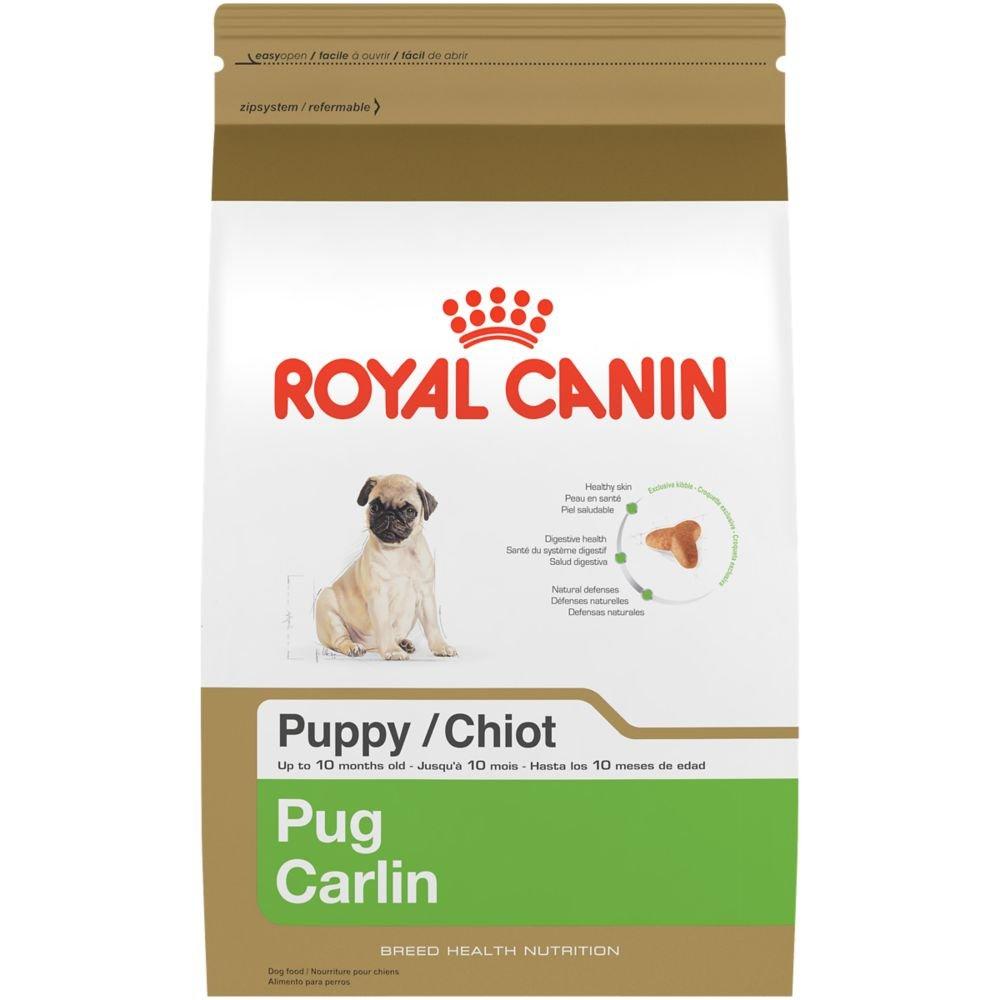 Royal Canin Breed Health Nutrition Pug Puppy dry dog food, 2.5-Pound