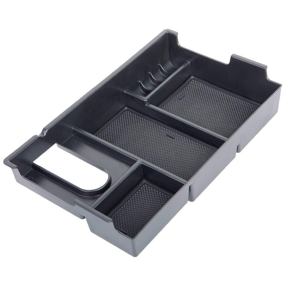 Altopcar for Tundra Center Console Organizer,Toyota Center Console Tray Organizer Glove Box Fits for 2014-2018 Tundra Armrest Secondary Storage Box Tundra Accessories