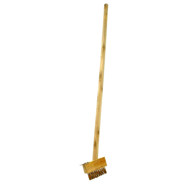 AB Tools Short Patio Weeding Brush Weeding Tool Gardening Block Paving Brushes GAR07A