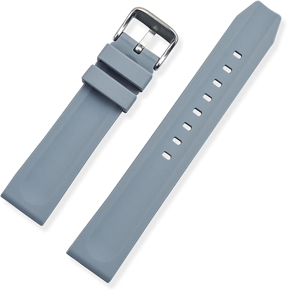 Vinband Correa Reloj Calidad Alta Correa Relojes Caucho Camuflaje Espesar Al Aire Libre - 20mm, 22mm, 24mm Silicona Correa Reloj con Hebilla de Acero ...