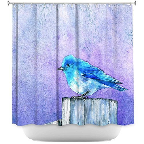 Shower Curtains - Bluebird Bliss