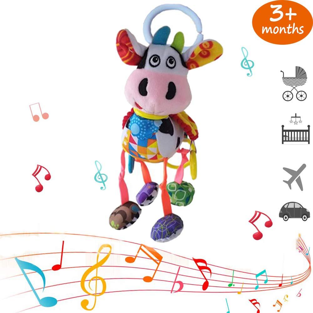 Peluche Appesi a Giocattoli Musicali Giocattoli Educativi per pi/ù di 3 Mesi OOOUSE Giocattoli Appesi per Bambini