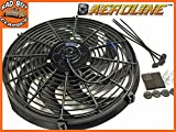 14' Aeroline 120w 12v Electric Radiator Cooling Fan Universal Fitting