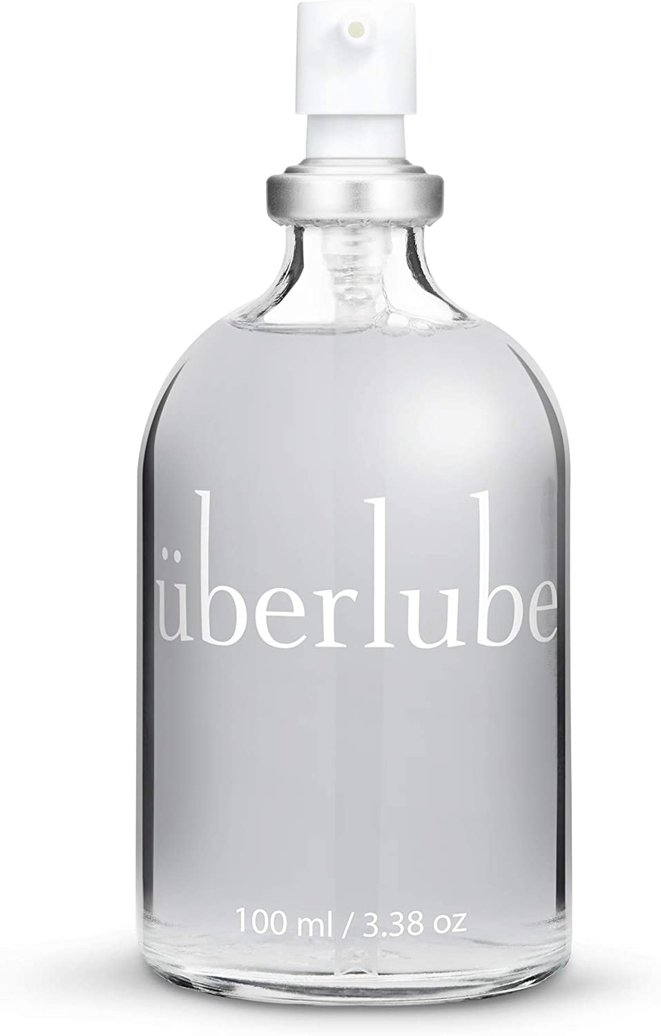 Amazon.com: Überlube Luxury Lubricant   Latex-Safe Natural Silicone Lube with Vitamin E   Unscented, Flavorless, Zero Residue, Works Underwater - 100ml: Health & Personal Care