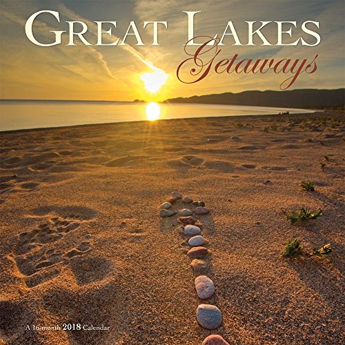 Great Lakes Getaways 2018 Wall - Outlet Michigan Great Lakes