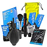 UES DKL-6 DSLR Digital Camera Cleaning Kit - Photo Professional Cleaning Kit All-Inclusive Sensor and Lenses Cleaning Travel Package