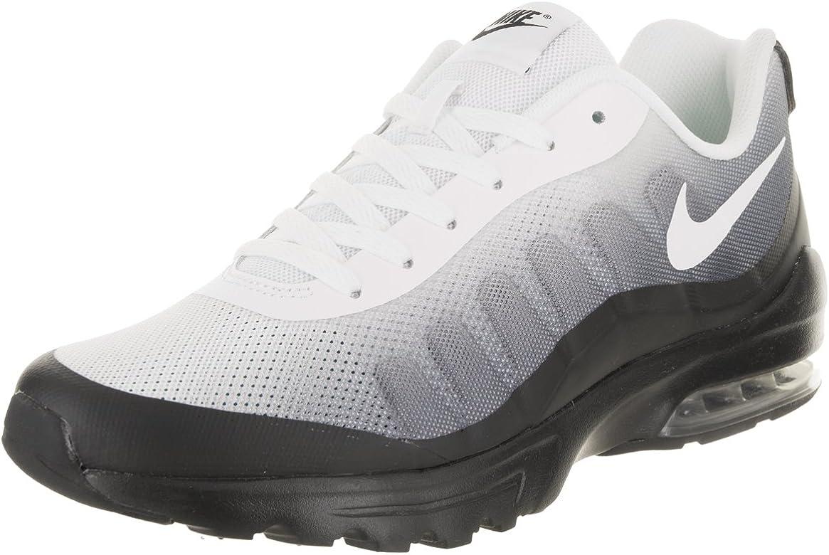 Nike Air MAX Invigor S, Zapatillas de Running para Hombre, Blanco (Black/White/Cool Grey 010), 41 EU: Amazon.es: Zapatos y complementos