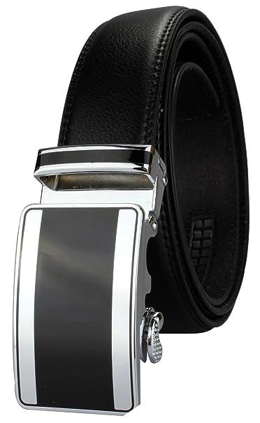 Cinturón de hombre automático traje traje de cinturón ...