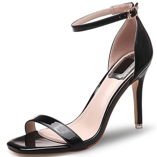 De Los Las Abiertos Zapatos Tacones Dedo Ruiren Del Altos Pie qzX61Yzw