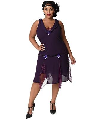 Flapper Plus Size Dress Ibovnathandedecker