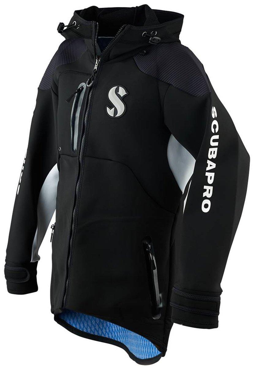 SCUBAPRO Premium Boat Coat, Men, Black, L by SCUBAPRO
