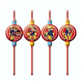 Bombero Sam - Fiesta Cumpleaños Sorbetes (8 unidades ...